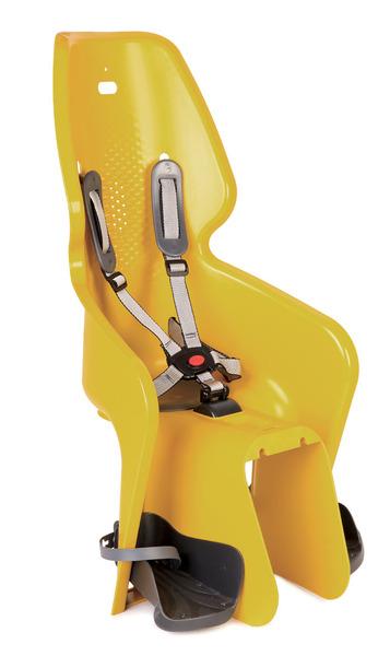 Detská sedačka BELLELLI zadná Lotus Clamp žltá
