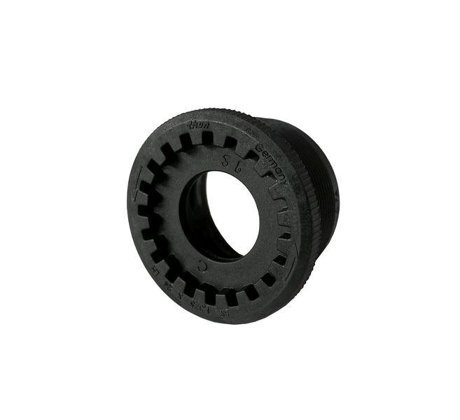 Pravá plastová miska + 1mm Thun IBEX-ML - anglický závit BSA