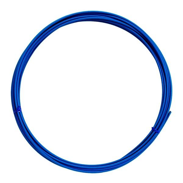 Lankovod radiaci priemer 4mm - tmavo modrý