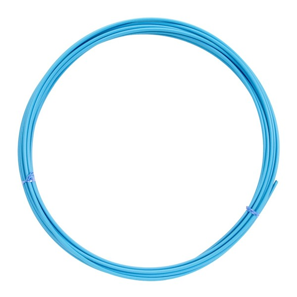 Lankovod radiaci priemer 4mm - bledo modrý