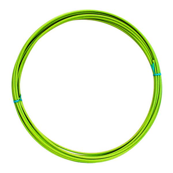 Lankovod radiaci priemer 4mm - neónovo zelený
