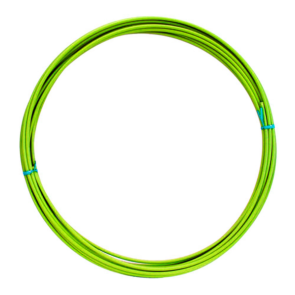 Lankovod brzdový priemer 5 mm - neónovo zelený