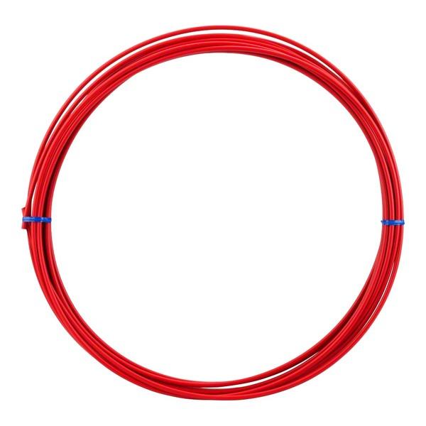 Lankovod brzdový priemer 5 mm - červený