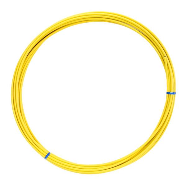 Lankovod radiaci priemer 4mm - žltý