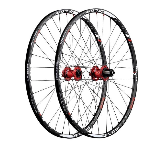 Vypletené MTB kolesá Novatec FLOW TRAIL 27.5 (doprodej)