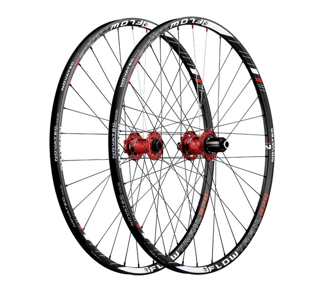 Vypletené MTB kolesá Novatec FLOW TRAIL 27.5