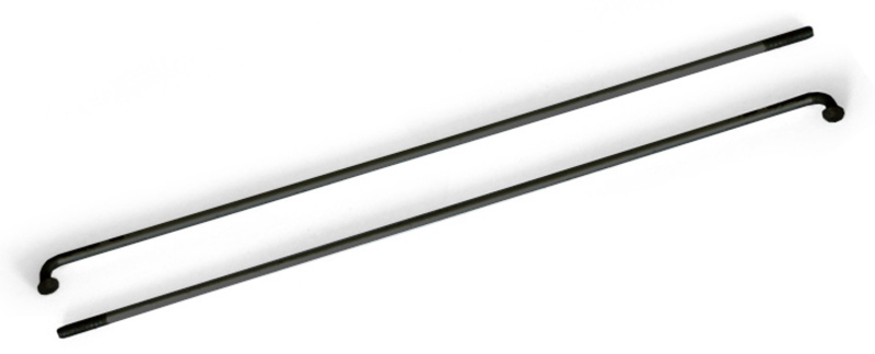 Drôt 2x296 mm nerez čierny