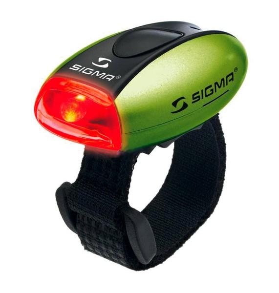 Světlo zadní Sigma MICRO R zelené