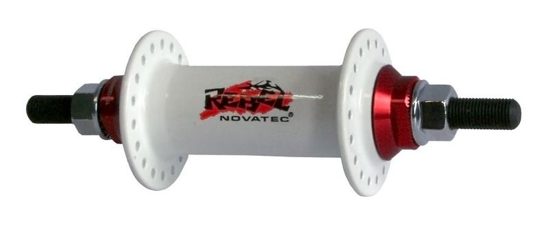 Náboj Novatec 765SBT, přední, 36-děrový, bílý