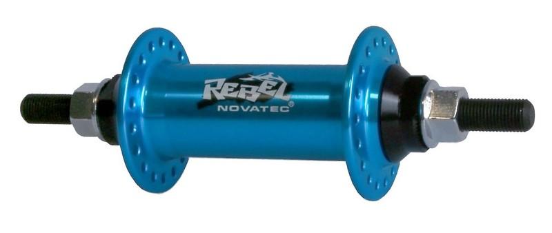 Náboj Novatec 765SBT, přední, 36-děrový, modrý
