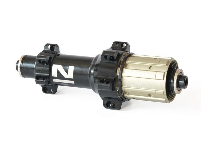 Náboj Novatec FS522SB-11S, zadný, 24-dierový, čierny (N-logo)