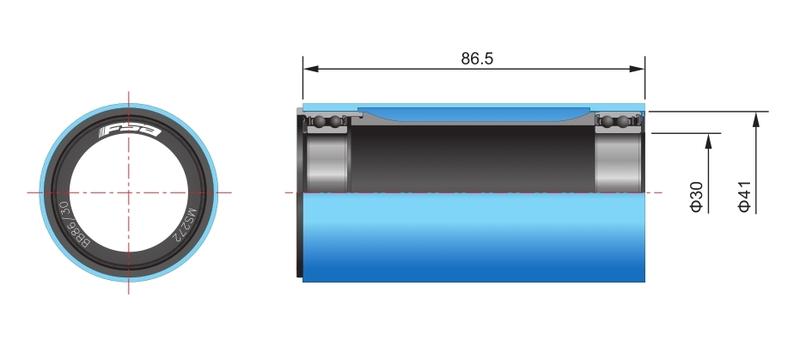 FSA Pressfit BB-86 pre kľuky 386EVO