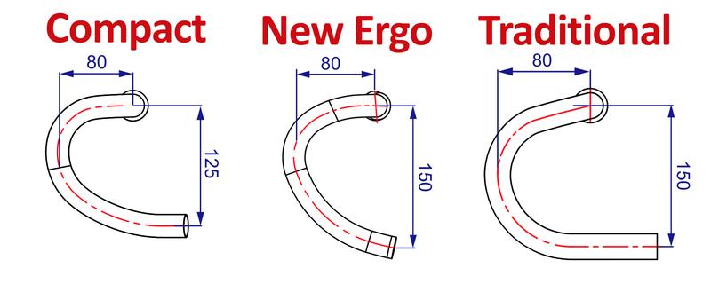 Kormidlo FSA K-Force New Ergo, 440mm