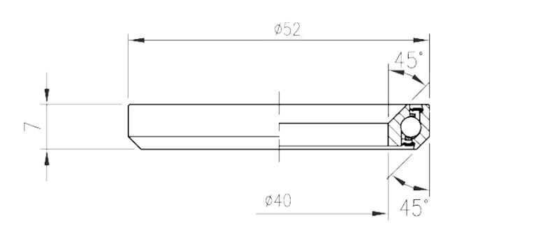 "Ložisko FSA TH-070E (MR070) 1.5"""