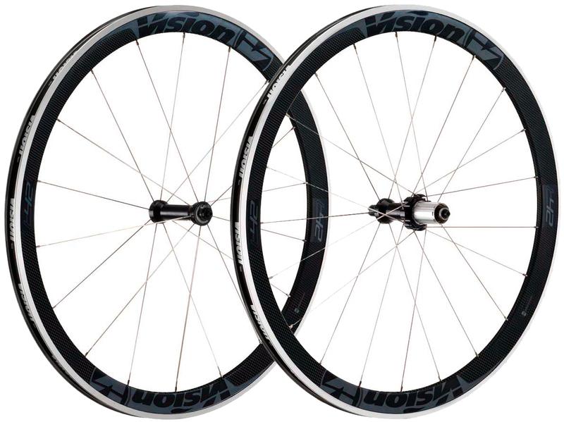 Cestné kolesá VISION TriMax Carbon T42