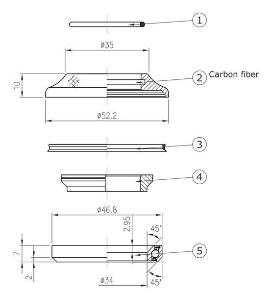 Hlavové zloženie FSA No. 53 CF-1