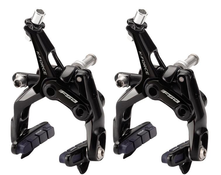 Silniční brzdy FSA K-Force Dual Pivot šedé