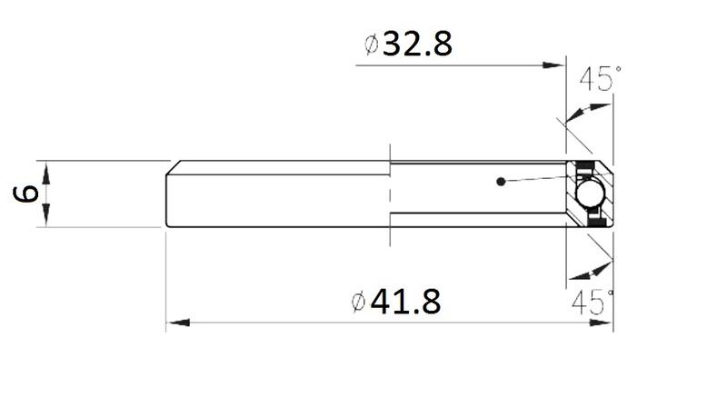Ložisko FSA No.51 (MR136)