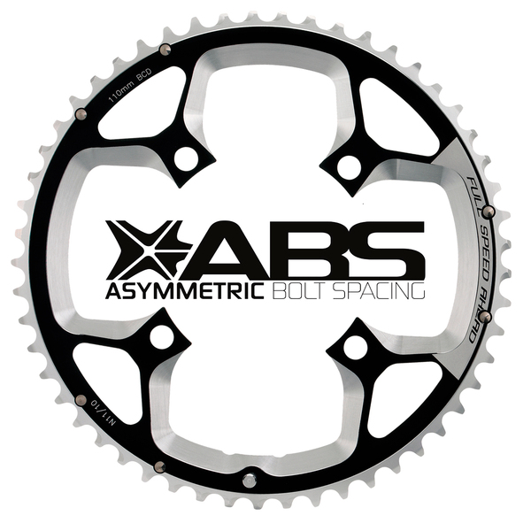 Cestný prevodník FSA Gossamer ABS 4H, 110x50z