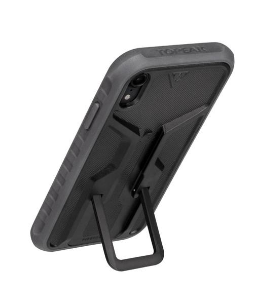 Puzdro Topeak RIDE CASE (iPhone XR) čierno-šedé (bez držiaku)