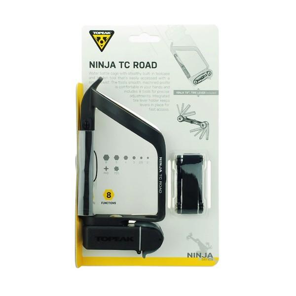 Košík na fľašu + multikľúč Topeak NINJA TC ROAD