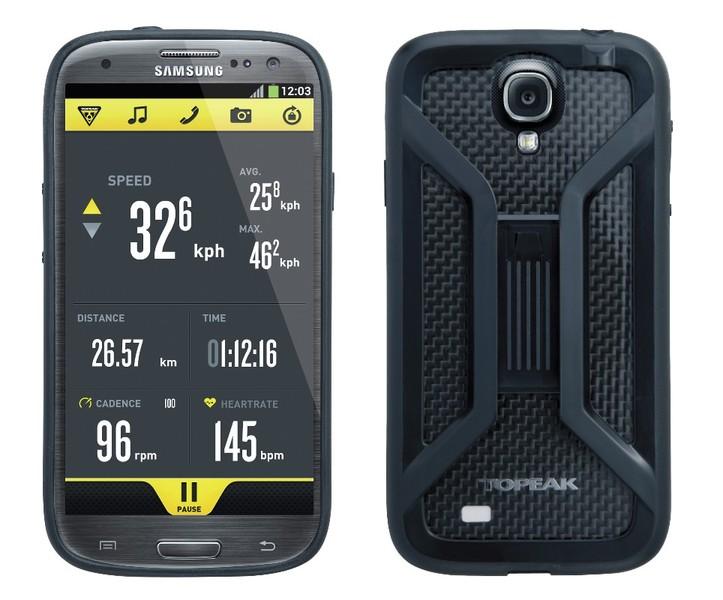 Puzdro s držiakom Topeak RIDE CASE (Samsung Galaxy S4 ) čierne