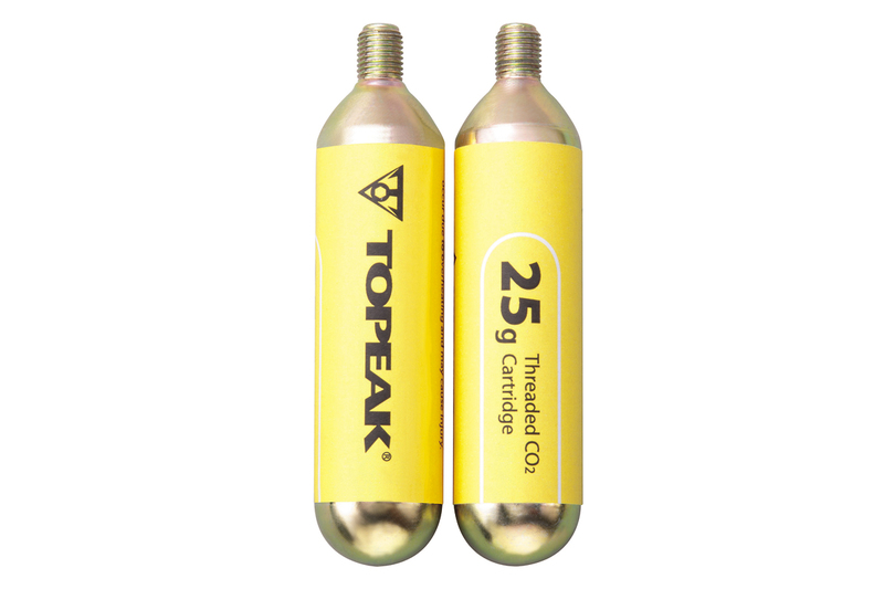 """Náhradná náplň Topeak CO2 (25g / závitová) pre 29"""" - sada 2 ks"""