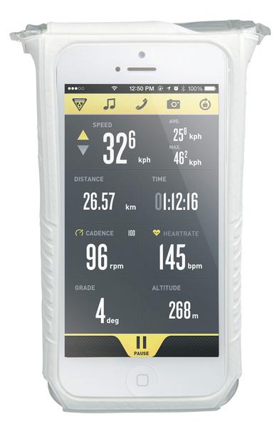 Puzdro Topeak SMART PHONE DRY BAG (iPhone 5/5s/5c/SE) biele