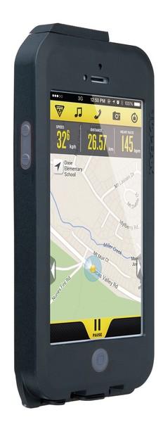 Puzdro Topeak WEATHERPROOF RIDE CASE (iPhone 5/5s/SE) čierno-šedé