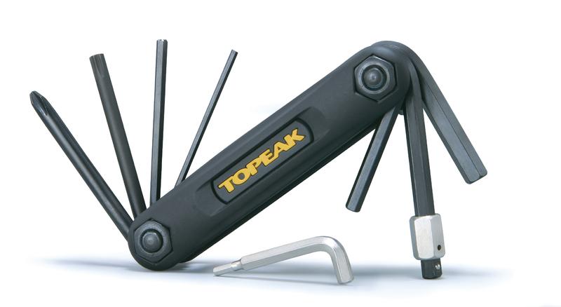 Multikľúč Topeak X-TOOL čierny