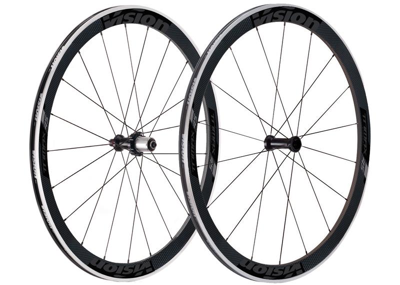 Cestné kolesá VISION TriMax Carbon 45, 2017