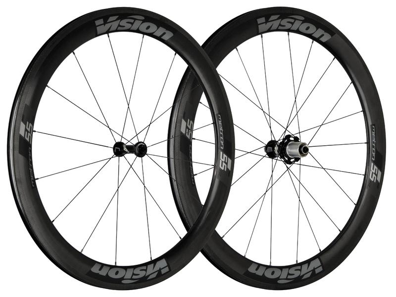 Cestné kolesá VISION Metron 55 SL, Clincher 2017
