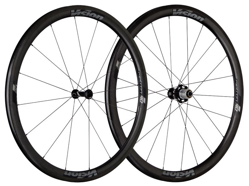Cestné kolesá VISION Metron 40 SL, Clincher 2017