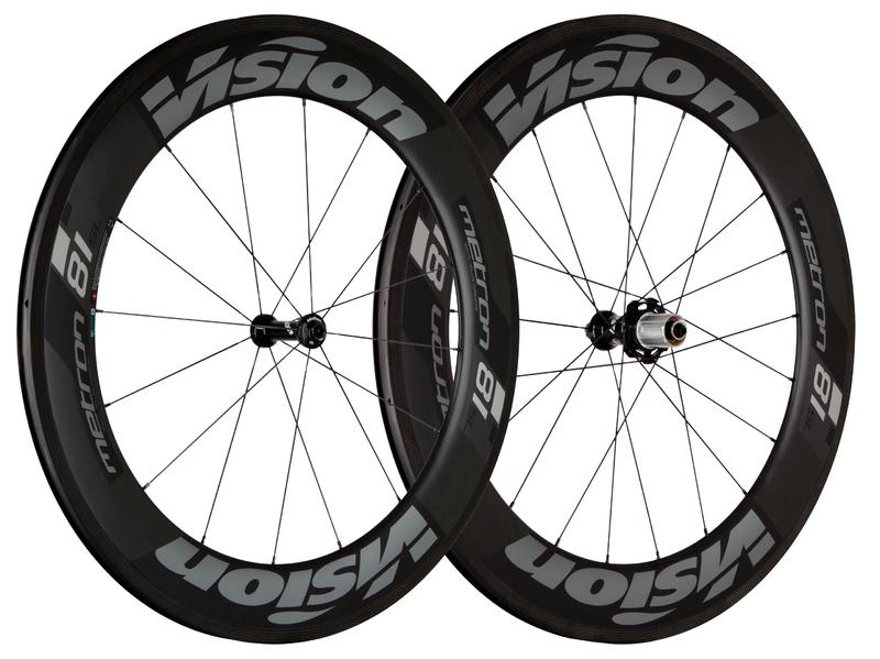 Cestné kolesá VISION Metron 81 SL, Clincher 2017