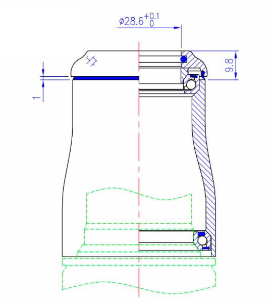 Hlavové zloženie FSA Orbit IS 138 CF