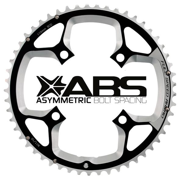 Cestný prevodník FSA Gossamer ABS 4H, 110x48z