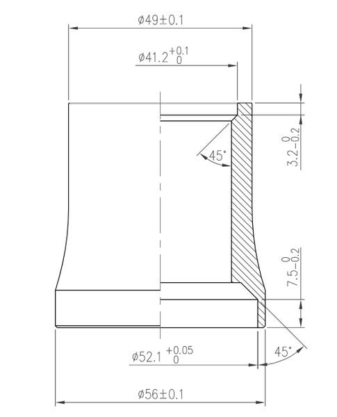 Hlavové zloženie FSA Orbit IS-2/49E/ACB