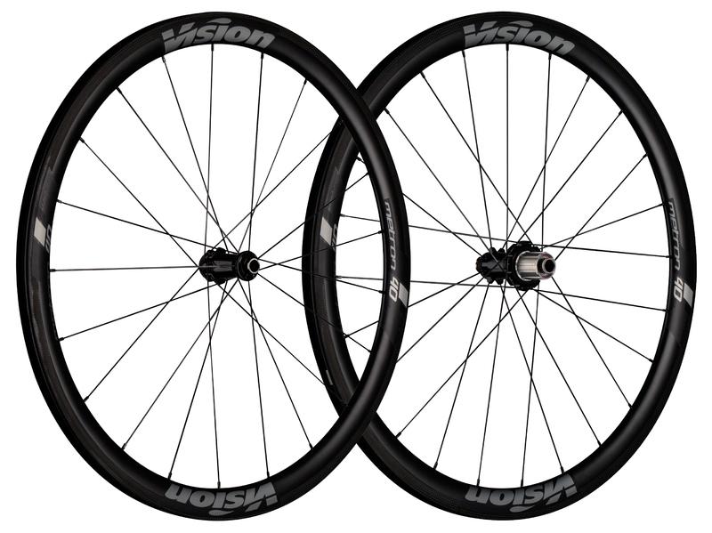 Cestné kolesá VISION Metron 40 SL Disc CL, Clincher
