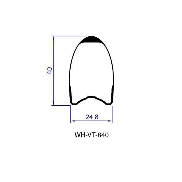 Kolesa FSA Vision TriMax Carbon 40 LTD Tubular, Shimano 11 2018