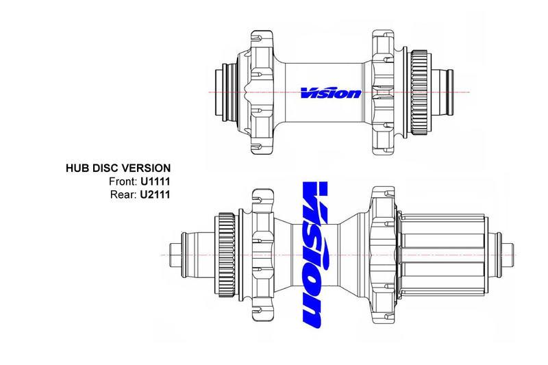 FSA Vision SC 55 SL DB-CL Clincher, Shimano