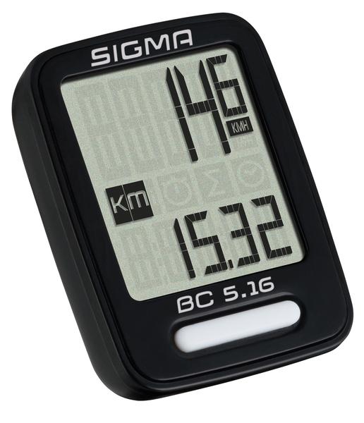 Cyklopočítač Sigma BC 5.16