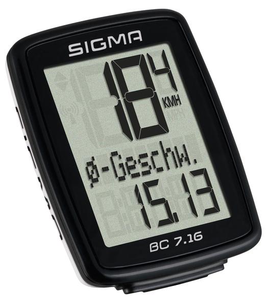 Cyklopočítač Sigma BC 7.16