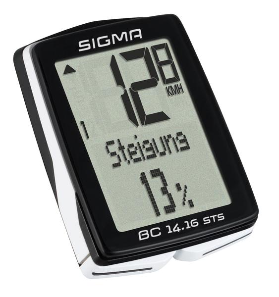 Cyklopočítač Sigma BC 14.16 STS CAD