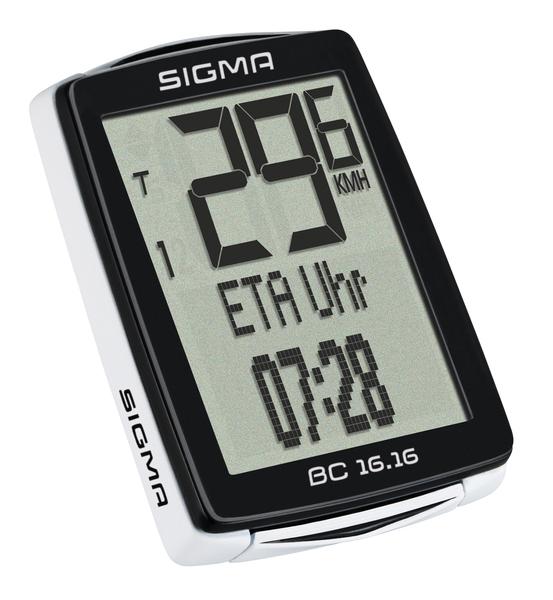Cyklopočítač Sigma BC 16.16