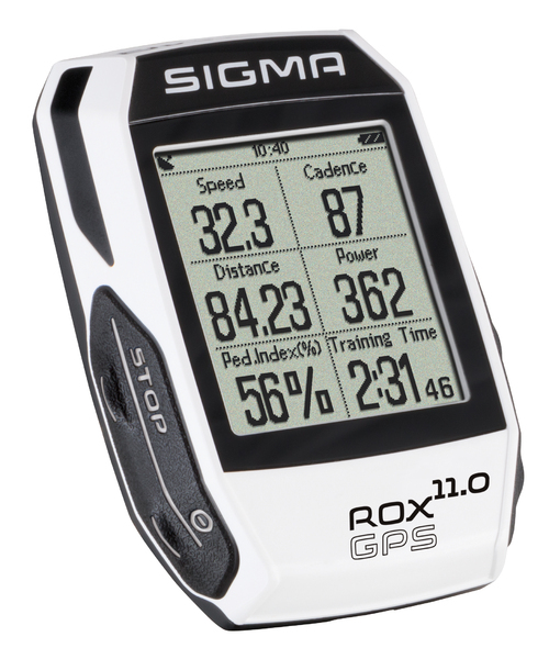 Cyklopočítač Sigma ROX 11.0 GPS White Set