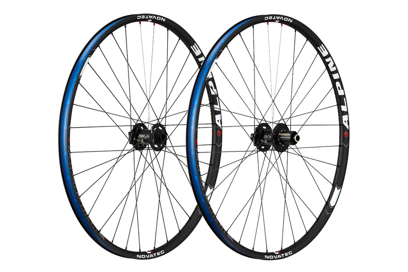 Vypletené MTB kolesá Novatec ALPINE 27.5