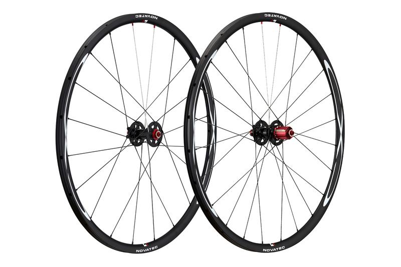 Cyklokrosové kolesá Novatec CXD tubular