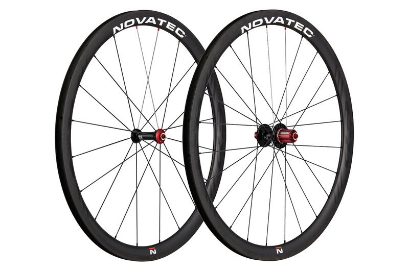Cestné kolesá Novatec R3 clincher