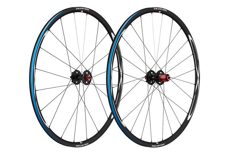 Cyklokrosové kolesá Novatec CXD clincher