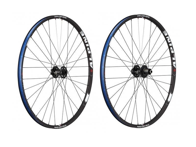 Vypletené MTB kolesá Novatec ALPINE29-XD 32/32